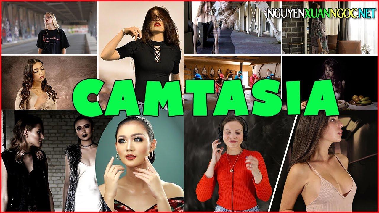4 Kỹ thuật chia nhỏ màn hình video bằng phần mềm Camtasia - Nguyễn Xuân Ngọc