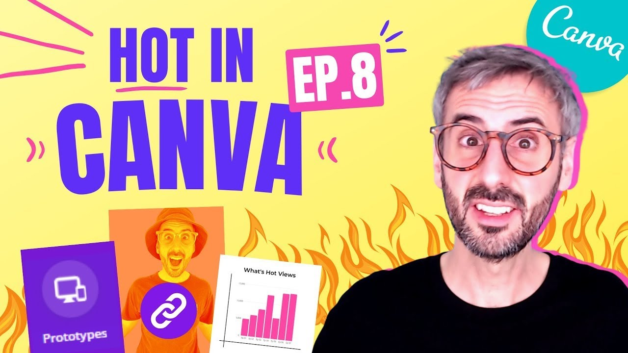What's HOT in Canva ? NEW Prototypes in Canva, Page Linking, Video Editor, Arrange Folders & more!