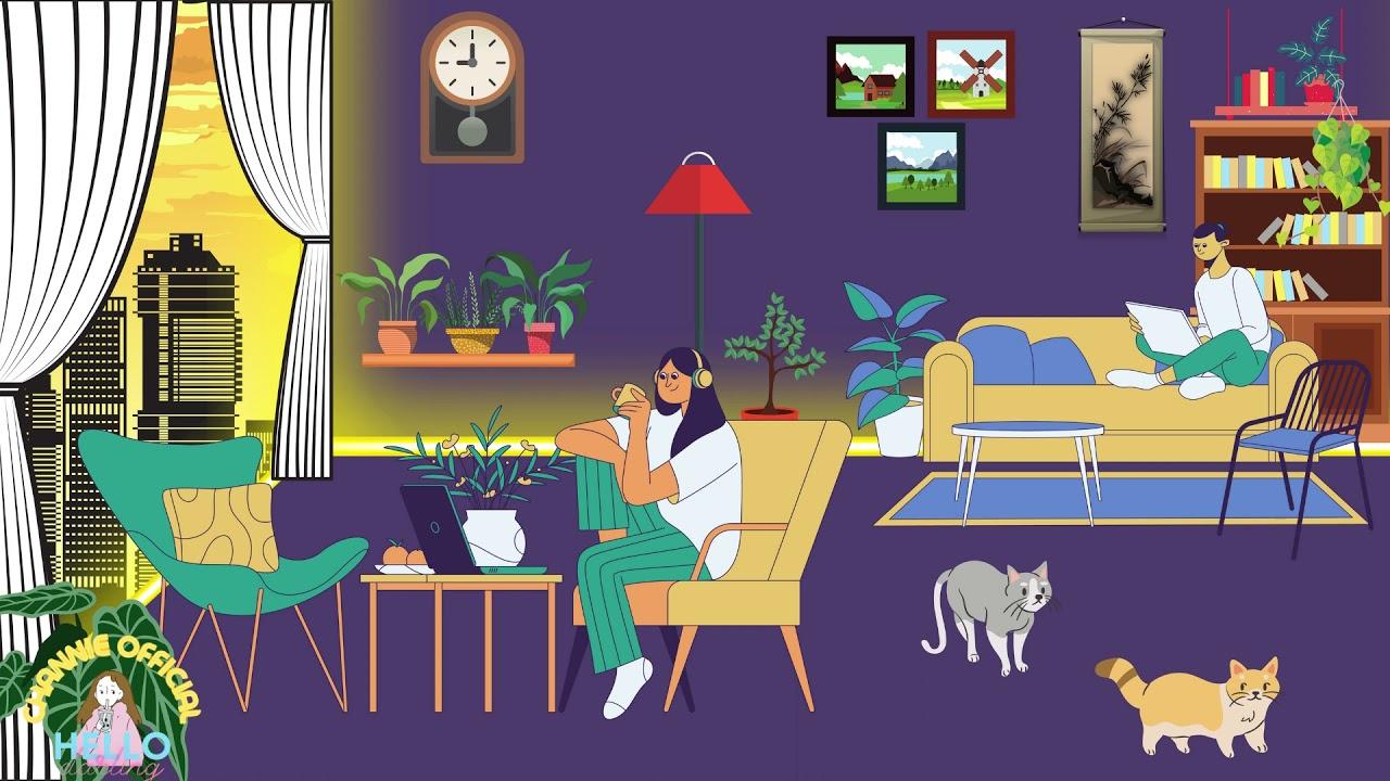 Sản Phẩm CanVa 02 - Tự Trang Trí Căn Phòng Chill Đơn Giản - Couple Together at Home #Canva
