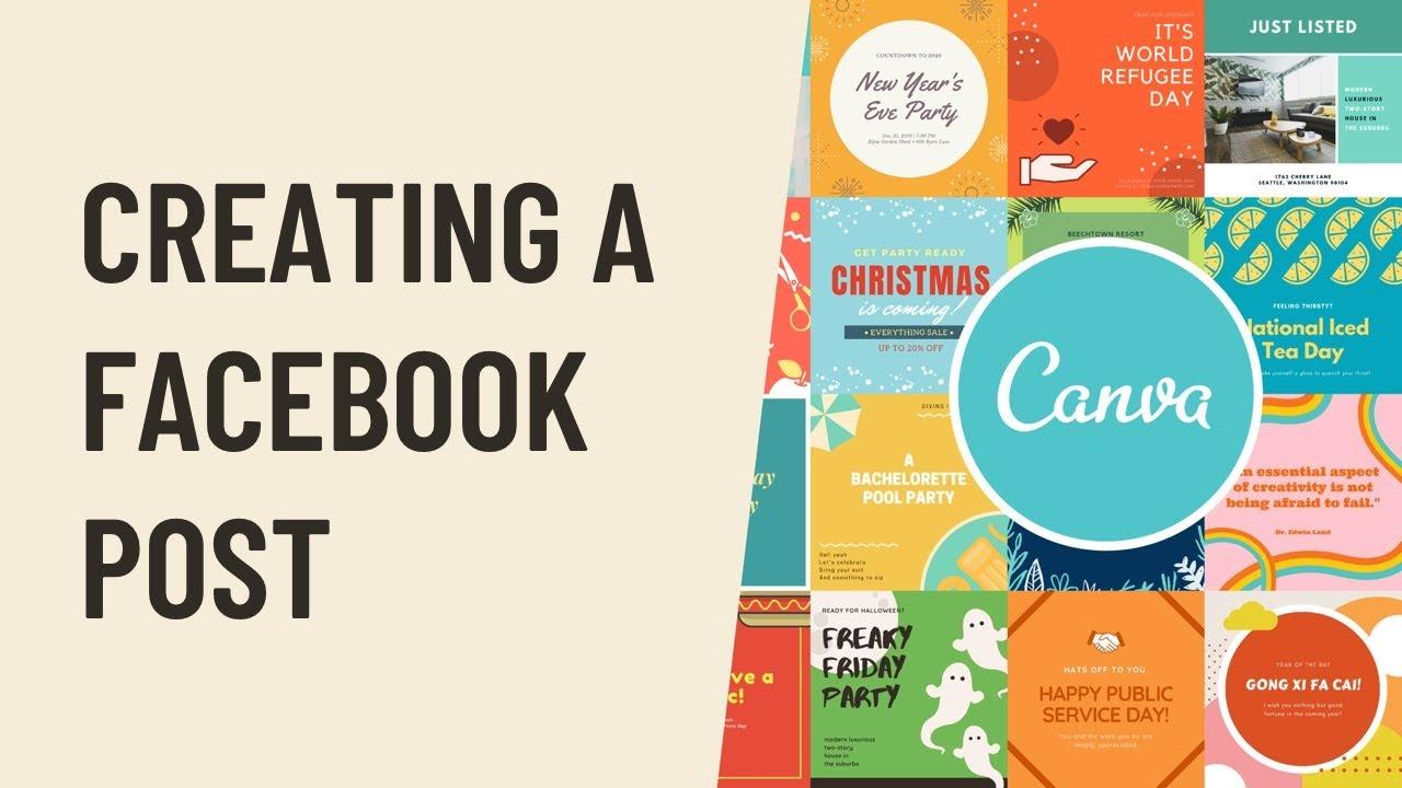 Canva: Creating a Facebook Post