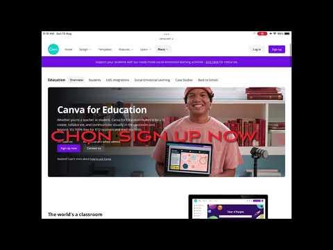 Hướng dẫn đăng ký tài khoản Canva Pro hoàn toàn miễn phí dành cho giáo dục