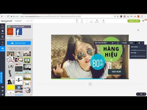Hướng dẫn sử dụng DesignBold để thiết kế ảnh quảng cáo Facebook
