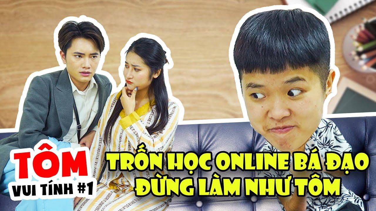 Tôm Vui Tính - Tập 1: Trốn Học Online Bá Đạo - Đừng Làm Như Tôm   #Shorts